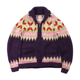 EDWIN 'OVER WORKS FACTORY' Cowichan Sweater
