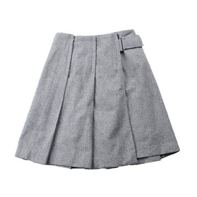 noue-rue Wool Skirt