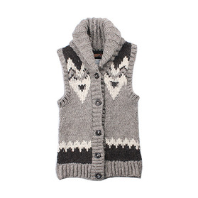 URBAN RESEARCH DOORS 'HandKnit Cowichan'