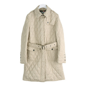KOOS Quilted Trench Coat