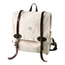 TWO DIAMOND SUPERIOR COTTON CANVAS RUCKSACK
