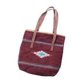 HANDMADE Native Blanket Bag