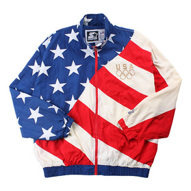 90's STARTER OLYMPIC TEAM JACKET