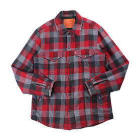 LEVI'S Quilted Flannel Shirt