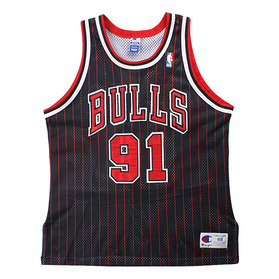 CHAMPION 90's CHICAGO BULLS RODMAN AUTHENTIC JERSEY