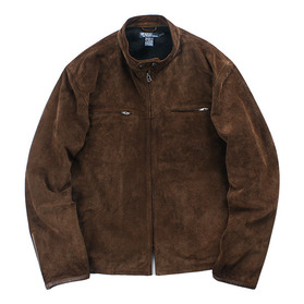POLO by RALPH LAUREN Suede Cafe Racer