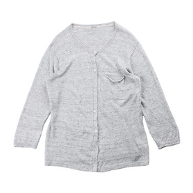 MARGARET HOWELL Linen Blend Cardigan