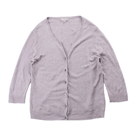MARGARET HOWELL Pure Linen Cardigan