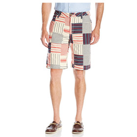 THE NEW IVY 'Indian Madras' Patchwork Shorts