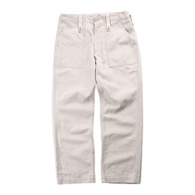 HARRISS Linen Blend Fatigue Pants