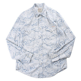 LUCKY BRAND Paisley Western Shirt(NEW)