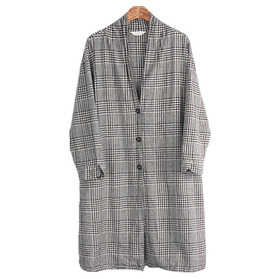 SUNVALLEY Linen Blend Coat