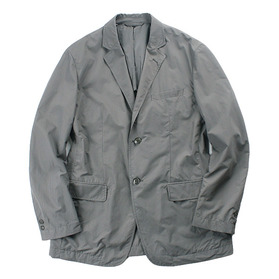 MUJI 'Stretch Nylon Blazer'