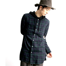 BROWNY Long Flannel Shirt