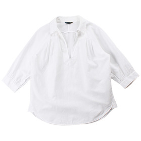 URBAN RESEARCH Linen Blend Blouse