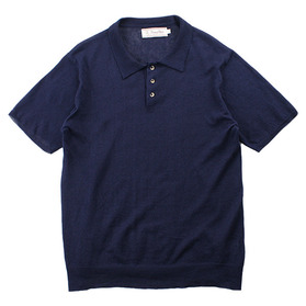 HOUSE OF BLUES Linen Blend Polo
