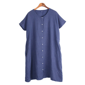 ICHI Pure Linen One-Piece