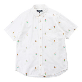 BEAMS Embroidered Shirt