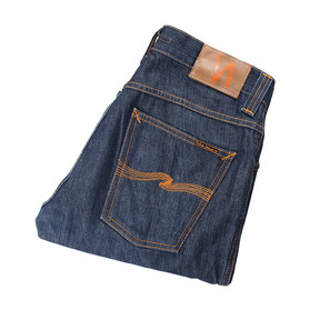 NUDIE JEANS 'Slim Jim' Organic Broken Twill