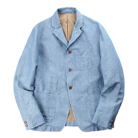 WASTE TWICE&Co. Chambray Jacket