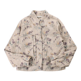 STUDIO CLIP Pure Linen jacket