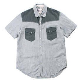 BARNS OUTFITTERS Ramie Blend Shirt