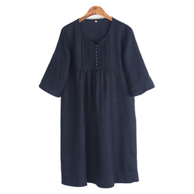 MUJI Pure Linen One-Piece