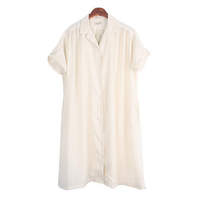 SAMANSA MOS2 Linen Blend One-Piece(NEW)