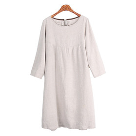Ns family Pure Linen One-Piece